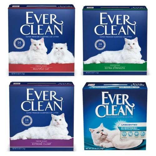 【EverClean 藍鑽】強效凝結除臭貓砂